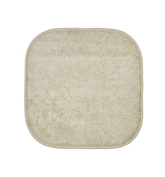 Almofada antiderrapante para cadeira bege