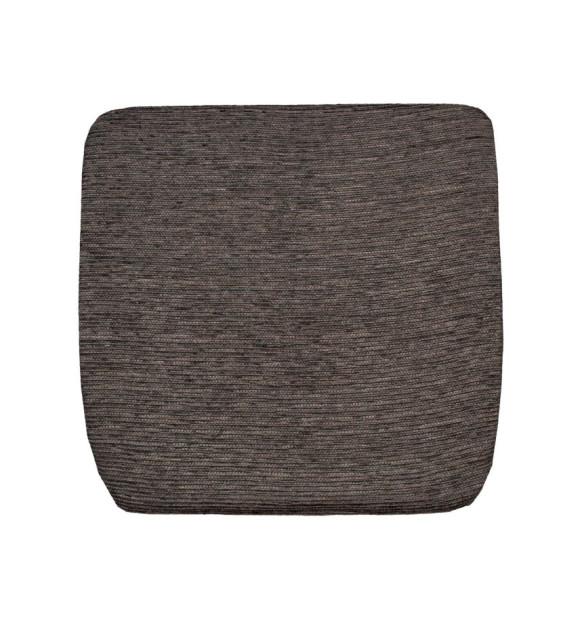 Almofada de cadeira marrom escuro