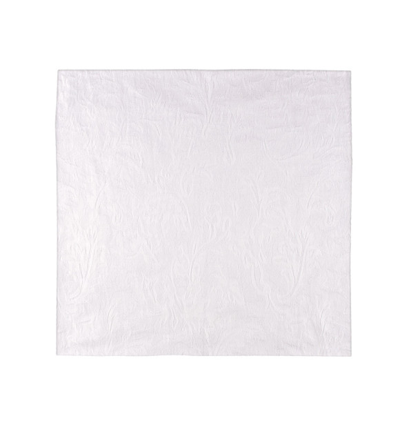 Mantelería de algodón blanco para hostelería