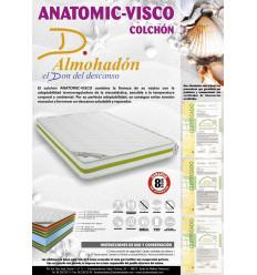 Colchón viscoelástico anatómico Don almohadón