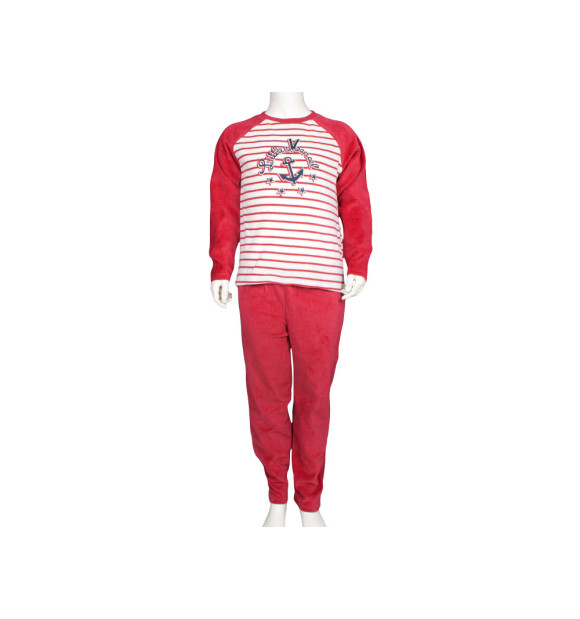 Pijama Terciopelo Ancla