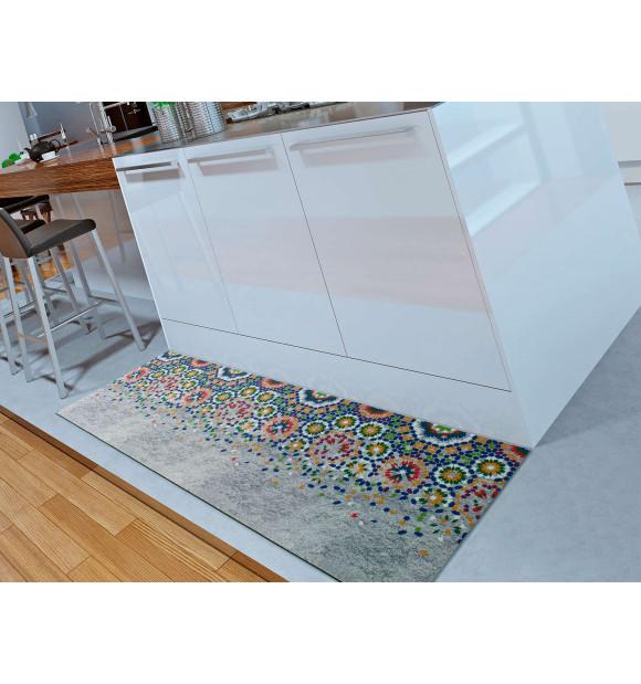 Tapete de cozinha em mosaico
