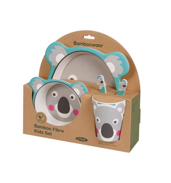 Juego de vajilla infantil 5 piezas Koala
