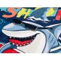 Toalha Poncho de Tubarão