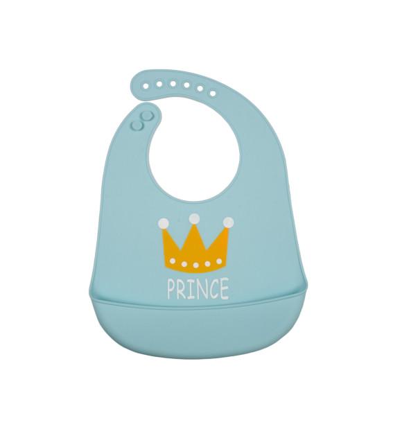 Babero de silicona para bebé modelo Prince