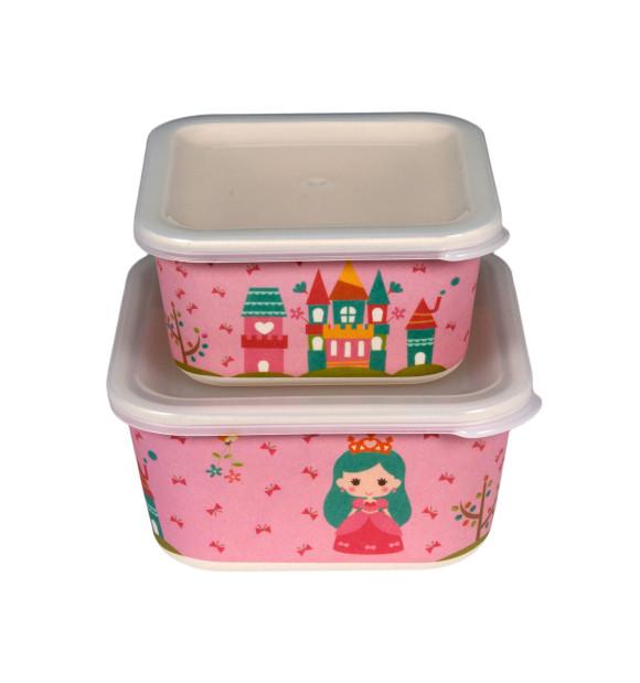 Tupper para comida infantil modelo Princess