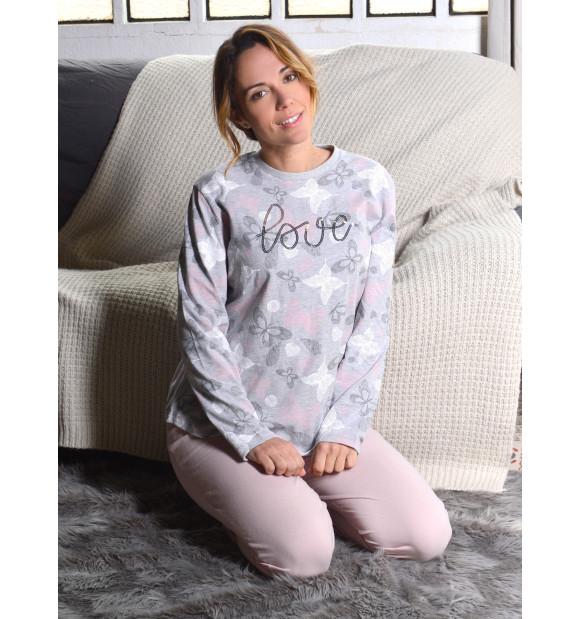 Pijama Privata Algodón Love