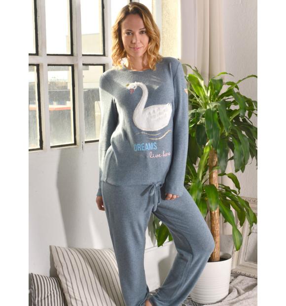 Pijama Privata Térmico Cisne