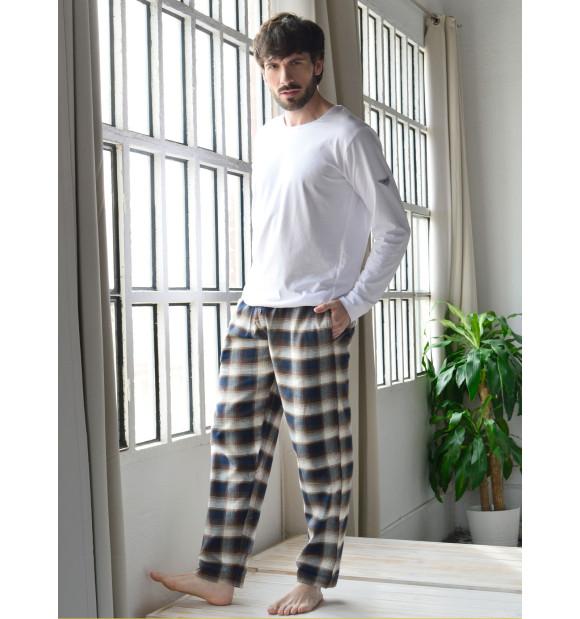Pantalón pijama algodón Alberto