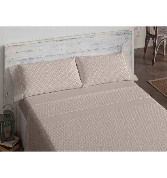 Conjunto de lençóis brancos Burrito 100% algodão Biel