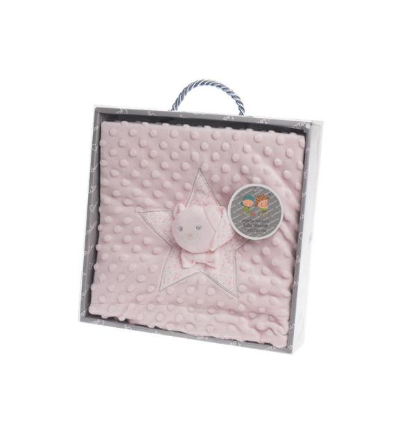Cobertor infantil Topitos Tambor