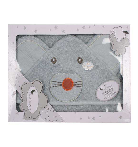 Capa de banho infantil Ratón