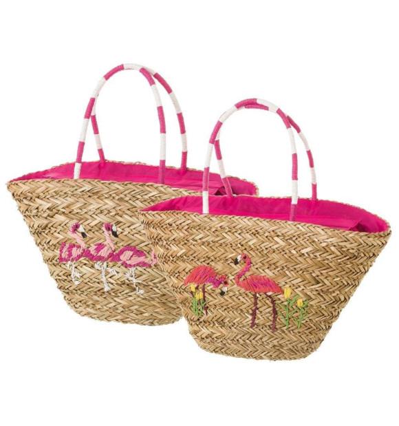 Cabaz de praia Flamingo