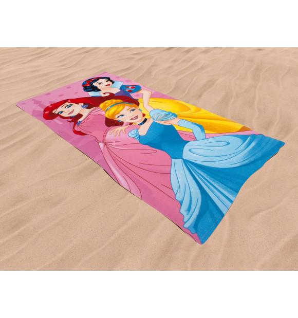 Toalha de Praia infantil Disney Princess