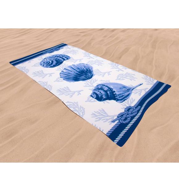 Toalha de praia caracola