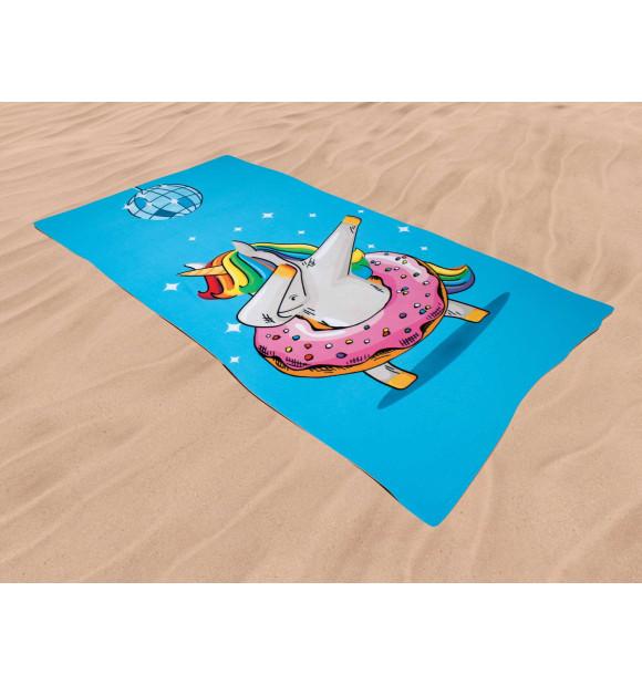 Toalha de praia unicórnio