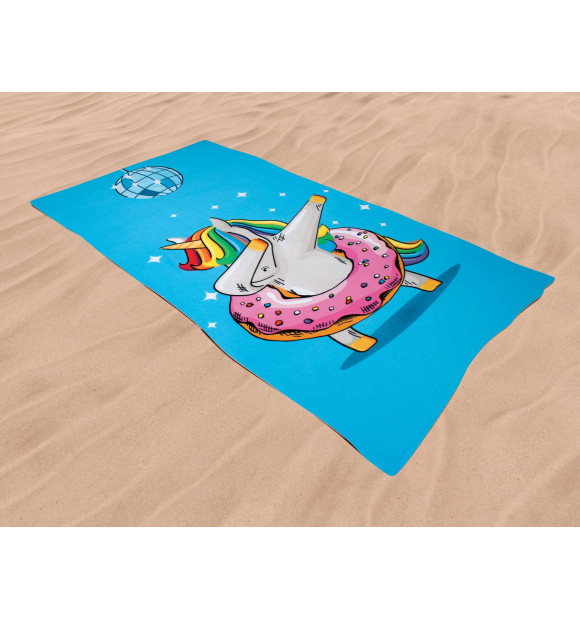 Toalla Playa Unicornio