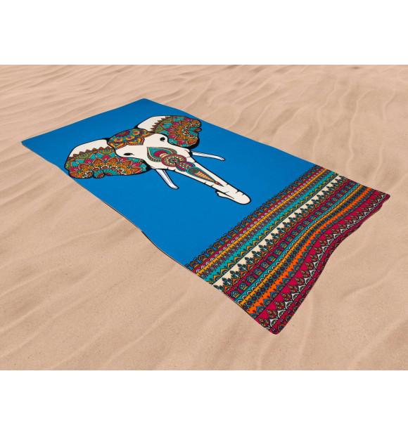 Toalha de praia elefante