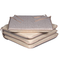 Cojín Silla Liso Beige Pack 4