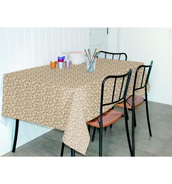 Toalha de mesa anti-manchas de bolinhas
