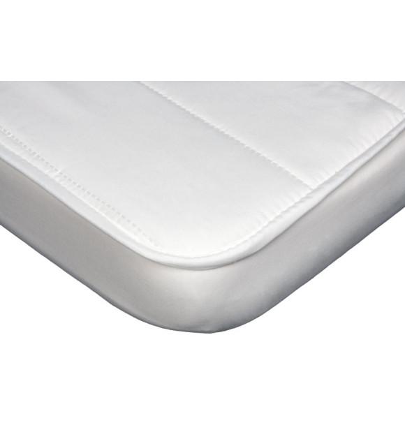 Protetor de colchão de berço reversível