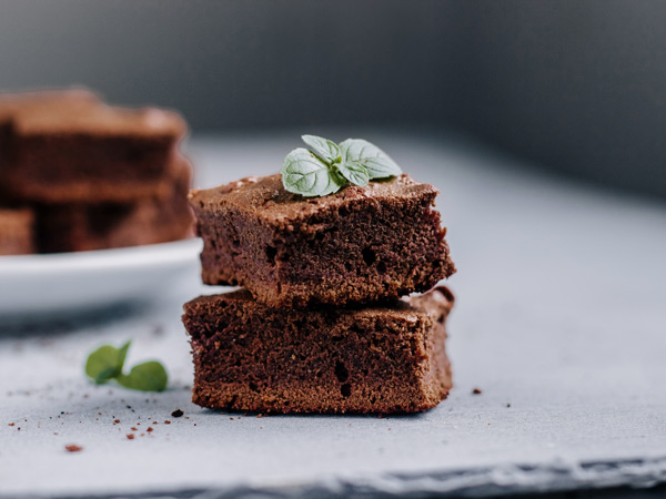 Receta brownie Revitex