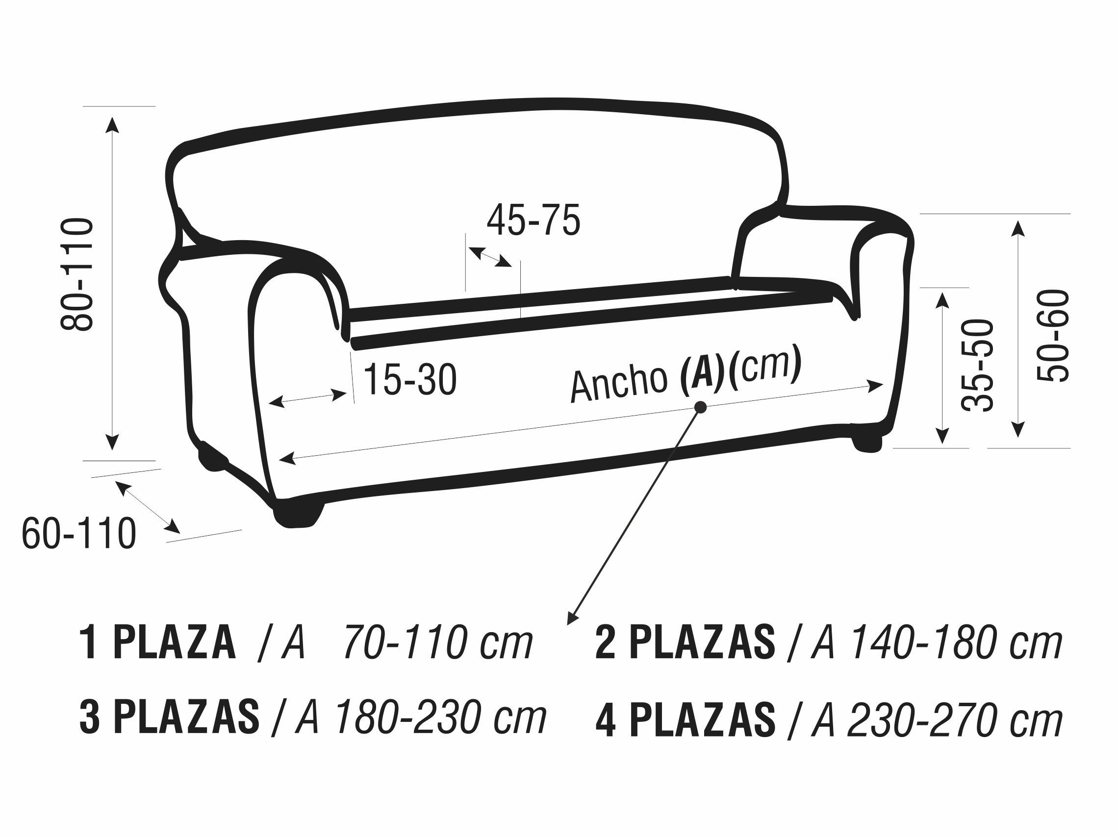 Detalle fundas de sofá